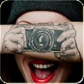 Camera Tattoo icon