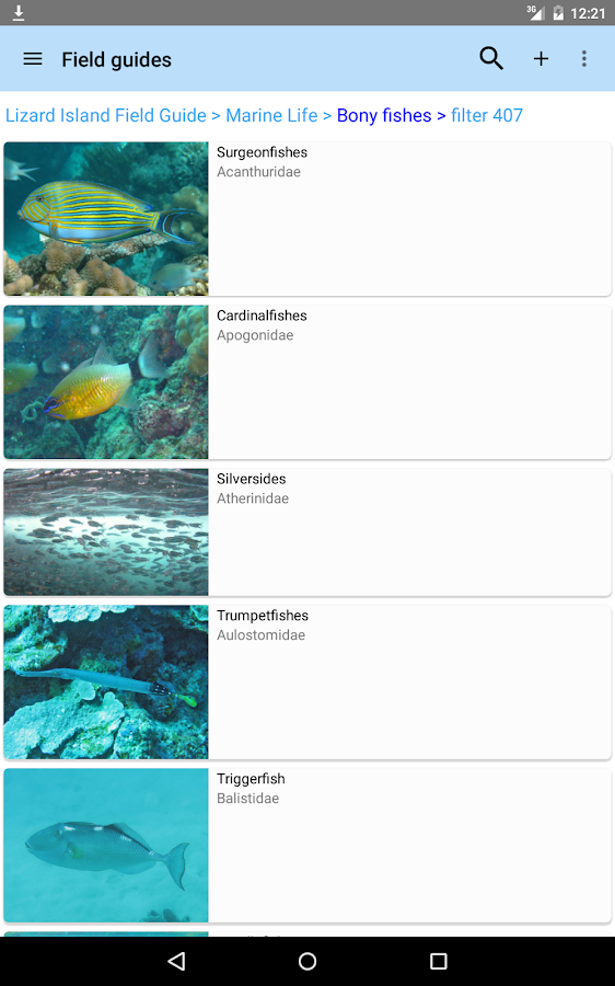 Lizard Island Field Guide Android Apps On Google Play