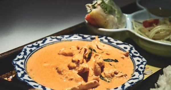Chic Thai 泰式新定食-台北公館平價單人套餐 主餐配菜湯品一份搞定