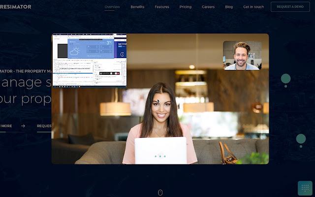 Resimator Oy Video Screen sharing