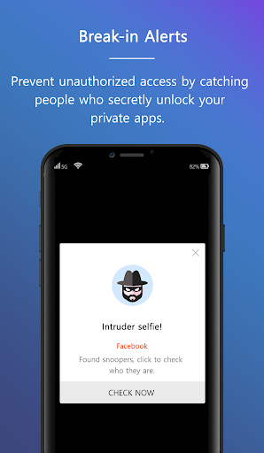 Ultra AppLock-Ultra AppLock protects your privacy. 1.0 screenshots 2