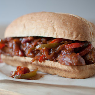 Italian Hot Sausage Sandwiches