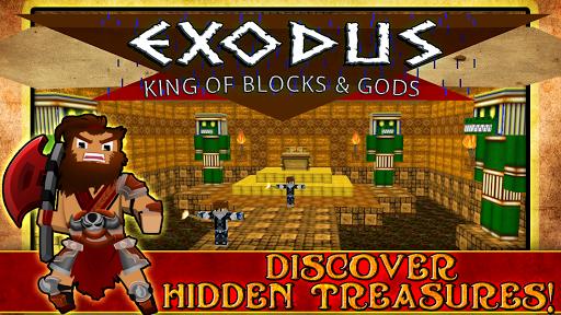 Exodus King of Blocks and Gods