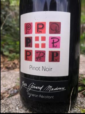 Pinot Noir - Savoie wine - Chignin - Vignoble de la Pierre