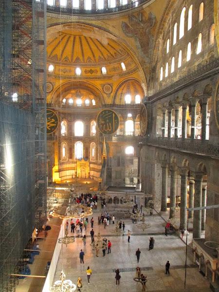 Hagia Sophia Interior from Upper Floor