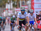 Wereldkampioen Alejandro Valverde was de beste in de Ronde van Spanje