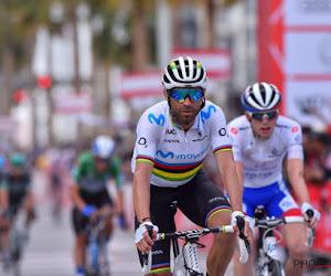 Meesterlijke Alejandro Valverde wint boven op monsterlijke slotklim, Dylan Teuns is leider af
