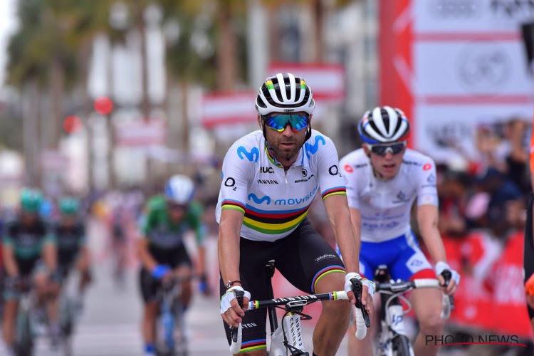 Alejandro Valverde gebruikte zijn ervaring om optie te nemen op eindzege