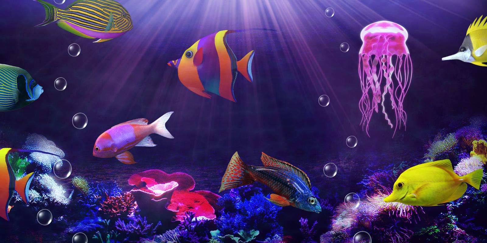 Interactive 3d Aquarium Live Wallpaper Aquarium Live Wallpaper Android Apps On Google Play