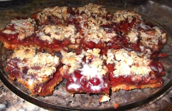 Homemade Cherry Pie Bars