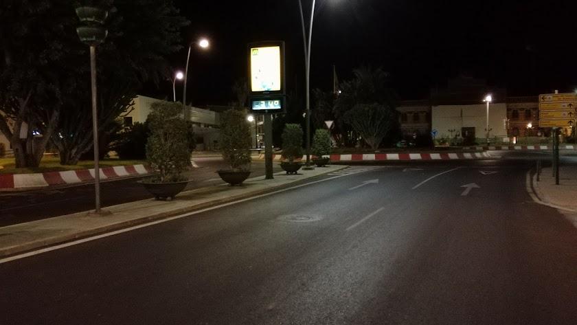 El termómetro frente a la estación registraba 34 grados a las 02:00