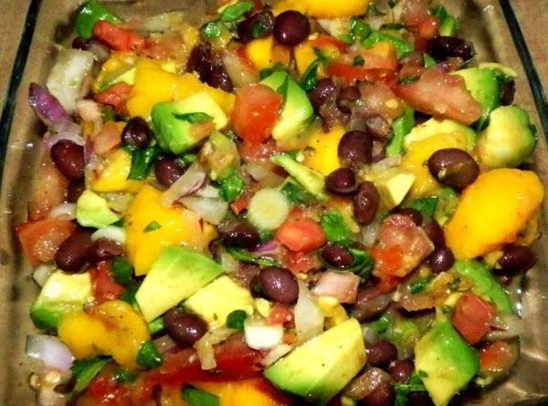 Black Bean, Corn, Mang-cado Salsa Recipe