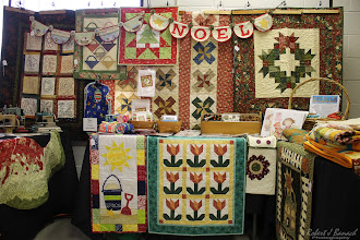 Photo: The Dusty Attic display at Delmarva Wool & Fiber Expo 2015 (Fall) | Photograph Copyright Robert J Banach #oceancitycool
