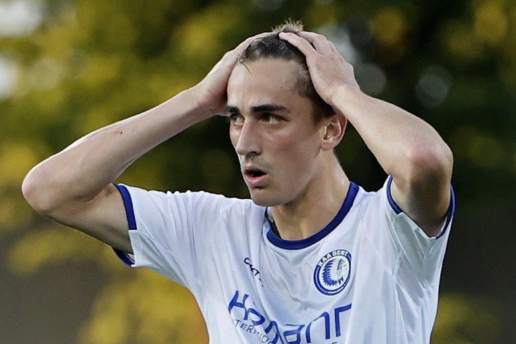 """Eén van de beste transfers van AA Gent? """"Ik heb mijn plaats niet bij deze spelers"""""""