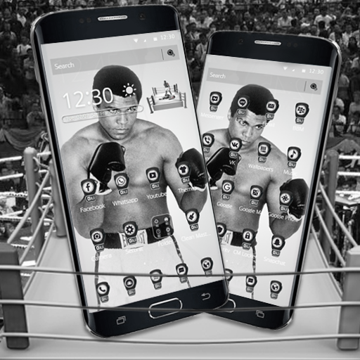 Legend Boxer Ali Boxing Sports Theme