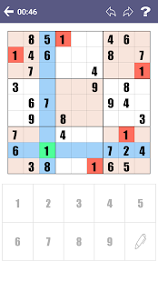Free Sudoku Game - náhled