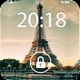 Fancy Screen Lock Paris Icon