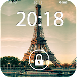 Fancy Screen Lock Paris Icon