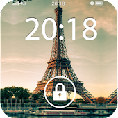 Fancy Screen Lock Paris