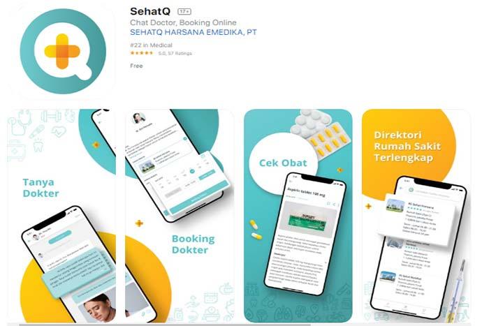 Fitur Platform Kesehatan Online Untuk Meningkatkan Pelayanan