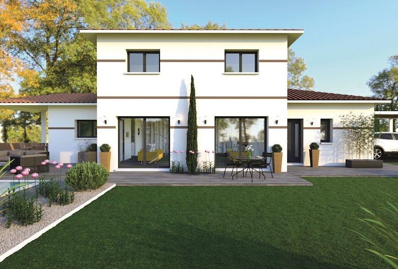 Vente Terrain + Maison - Terrain : 1000m² - Maison : 135m² à Saint-Aubin-de-Médoc (33160)