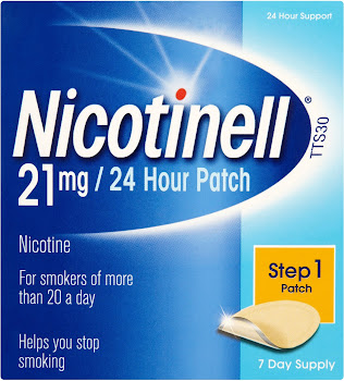 Nicotinell 24 Hour Transdermal Patch - Step 1, 7 Day Supply