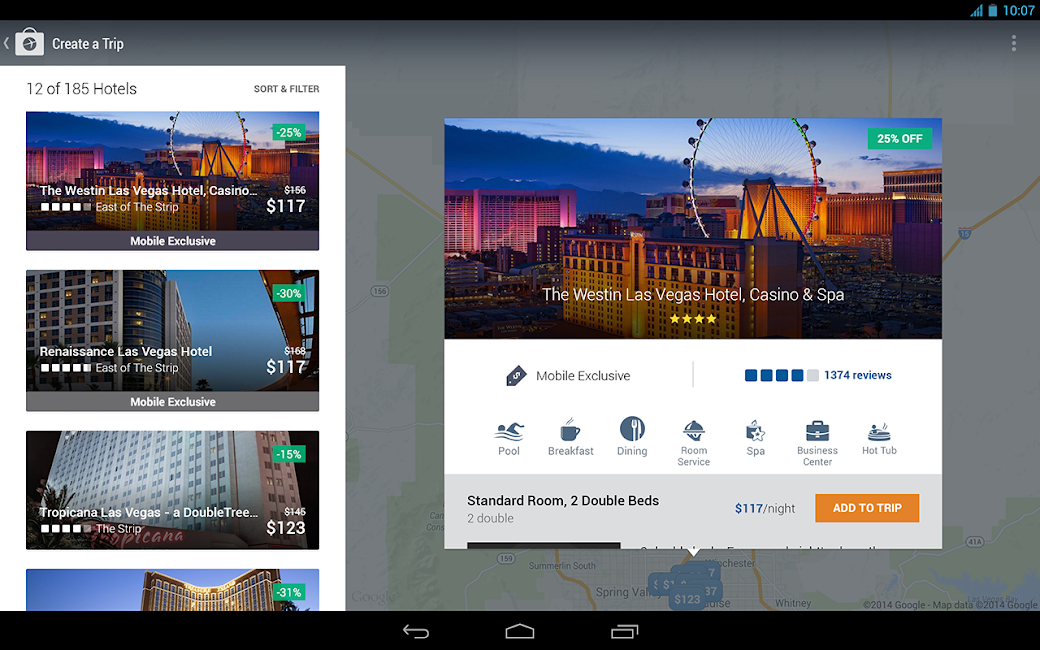 #11. Expedia Hotels, Flights & Cars (Android)