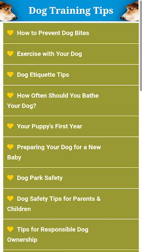 Dog Training Health Care