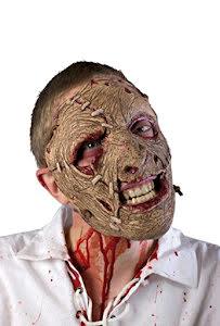 Ansiktsmask med stygn