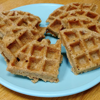 Two Whole Wheat Waffles