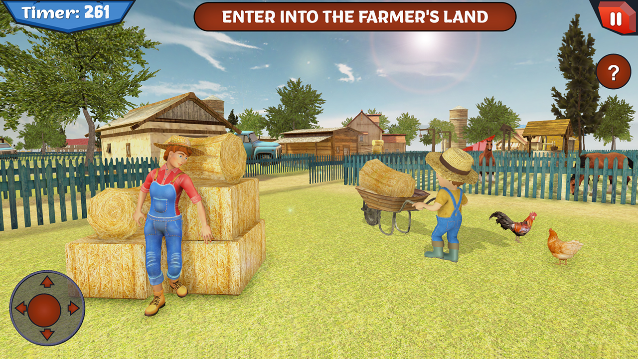 Scary Farmer Land Escape House Survival Android Apps Appagg