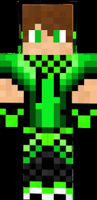 My skin in Green
