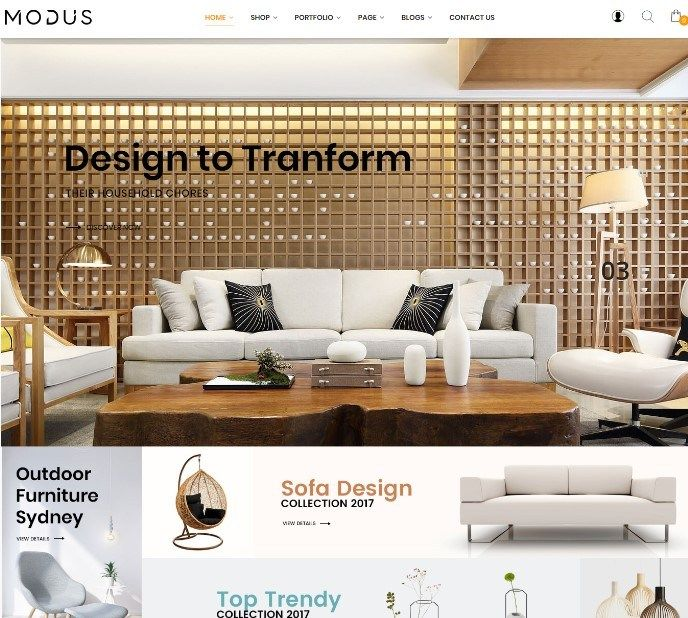 Wordpress ecommerce themes modus