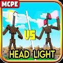 Head Light Horror Craft Mod MC Pocket Edition icon