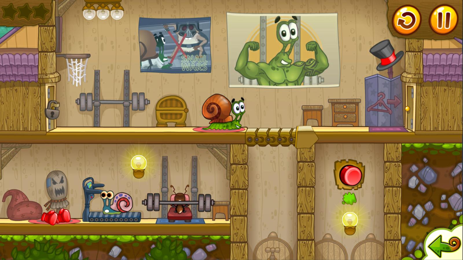 Snail Bob 2- tangkapan layar