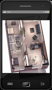 3D jednoduchý domácí plán 2018 - náhled
