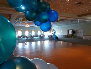 Photo: Under the Sea themedGrand Haven High School Prom 2011 at Trillium Banquet Hall, Spring Lake, Michigan. Beautiful place, love the LED ceiling!