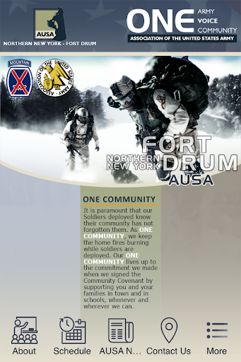 Fort Drum AUSA