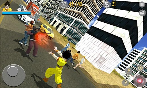 Saiyan Battle: Dragon Goku Superhero Warrior - náhled