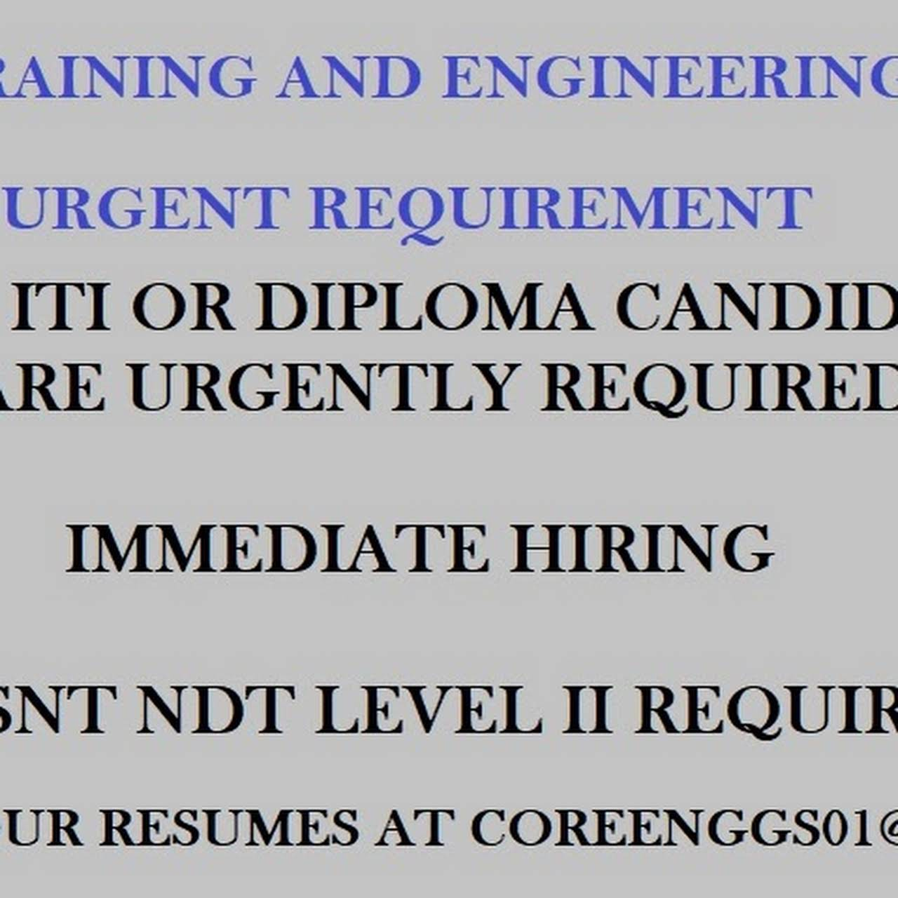 Core NDT Training & Engineering Services - Mechanical Engineering in