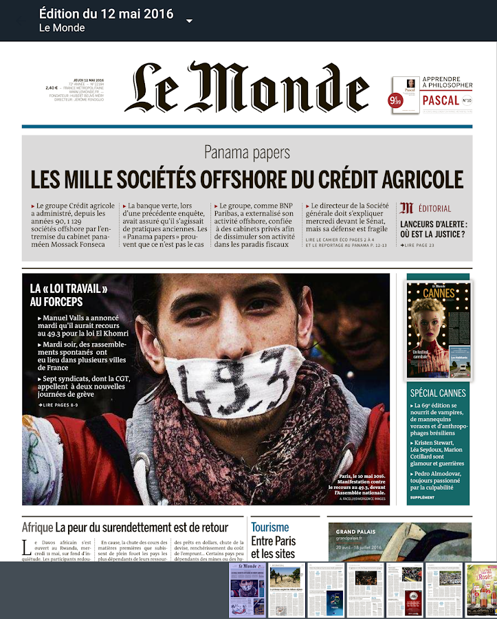 Journal Le Monde Android Apps On Google Play