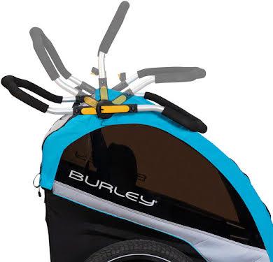 Burley D'Lite X Child Trailer: Aqua alternate image 3