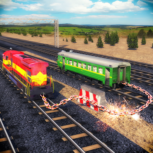 Chained Trains 3D - Multiplayer Racing