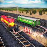 Chained Trains 3D - Multiplayer Racing Icon