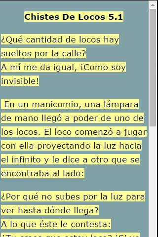 玩免費娛樂APP|下載Chistes De Locos 5 app不用錢|硬是要APP