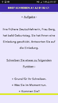 Download Brief Schreiben A1 A2 B1 B2 C1 Apk Latest Version App For