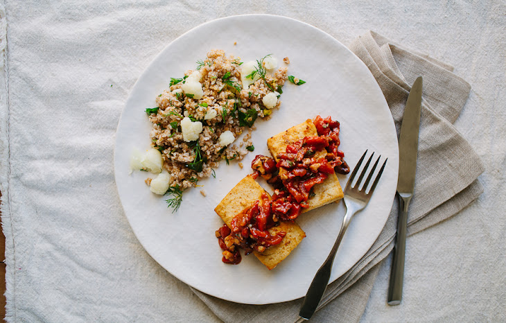 ... roasted red peppers bulgur salad with dill bulgur salad with chickpeas
