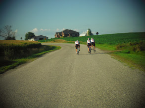 Photo: Day 44 London ON to Brantford ON Aug 2 2013 Country road