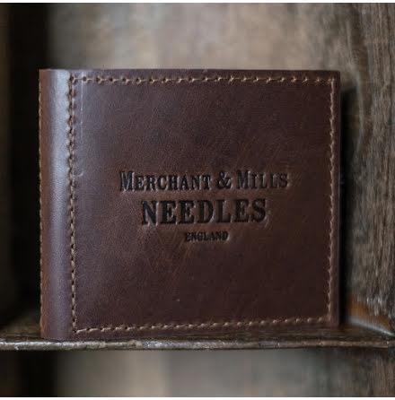 Nålplånbok / Leather Needle Wallet