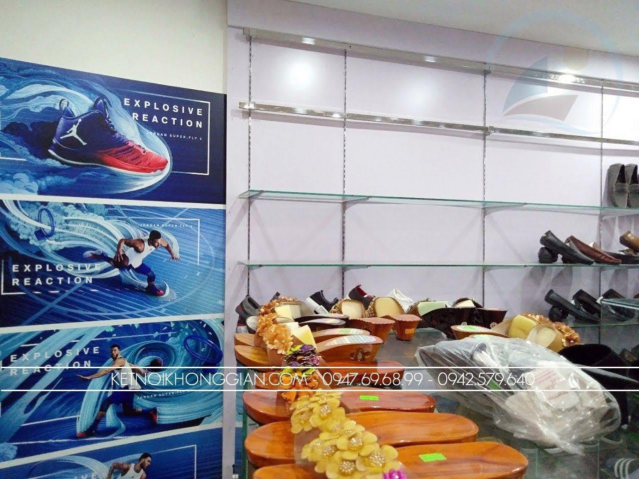 thiết kế thi công nội thất shop giày dép thời trang 10